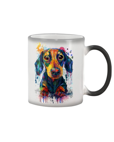 Doxie Color Changing Coffee Mug