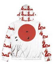 Dragon Sweater Designer  Women's All Over Print Full Zip Hoodie back