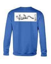 Dragon Poster Bushido Crewneck Sweatshirt back