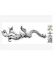 Dragon Poster Bushido 17x11 Poster thumbnail