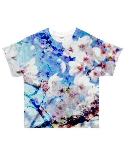 All over blossom shirt