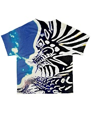 Underwater Dragon All-over T-Shirt back