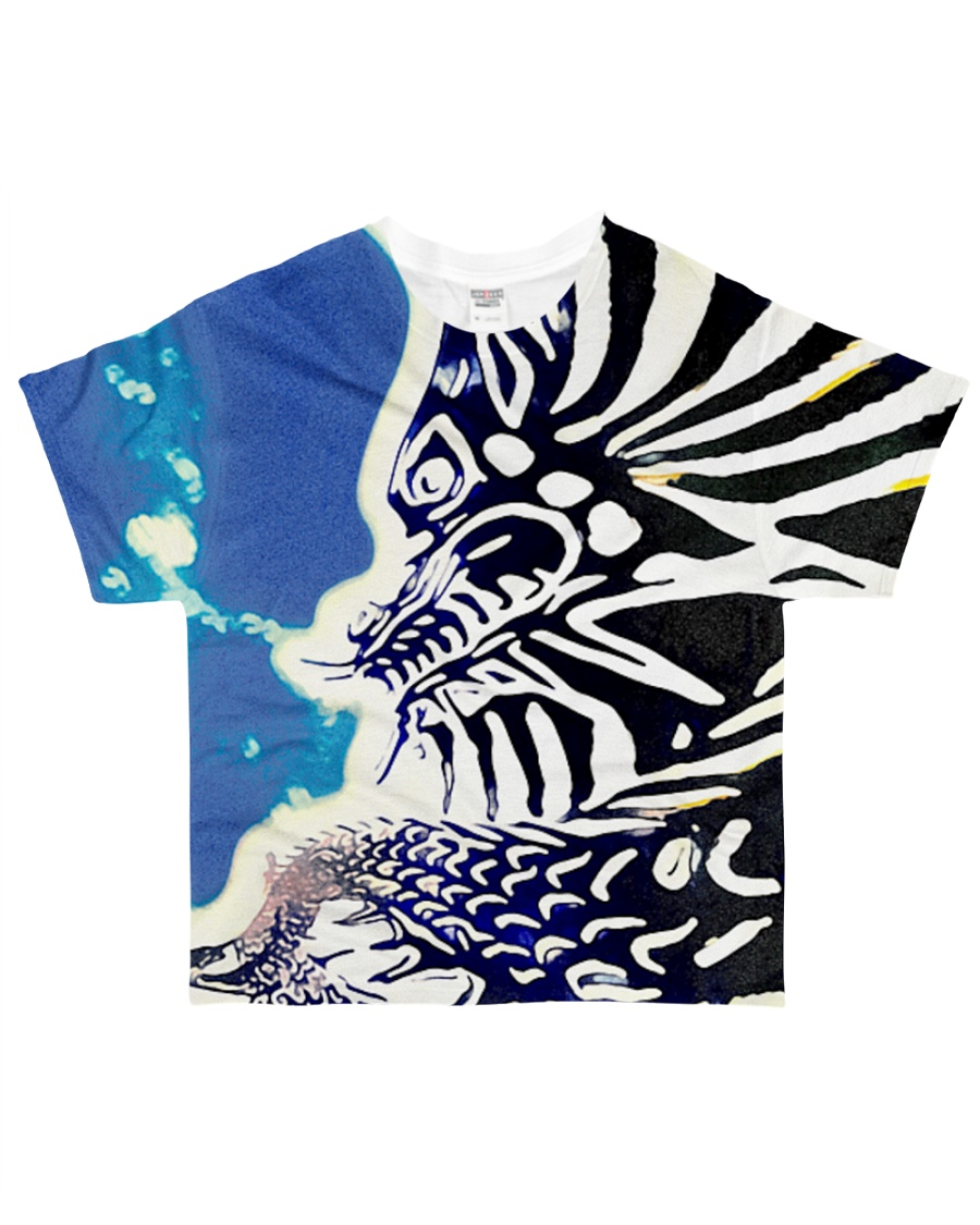 Underwater Dragon All-over T-Shirt