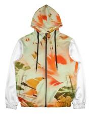 Tiger Lillies Design Men's All Over Print Full Zip Hoodie thumbnail