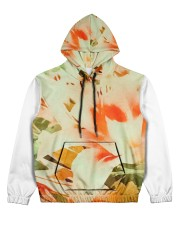 Tiger Lillies Design Women's All Over Print Hoodie thumbnail
