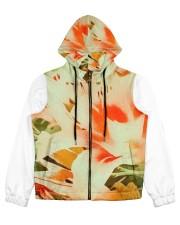 Tiger Lillies Design Women's All Over Print Full Zip Hoodie thumbnail