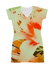 Tiger Lillies Design All-over Dress thumbnail