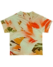 Tiger Lillies Design All-over T-Shirt back