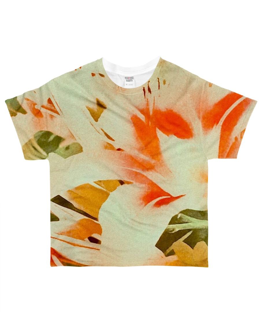 Tiger Lillies Design All-over T-Shirt