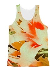 Tiger Lillies Design All-over Unisex Tank thumbnail