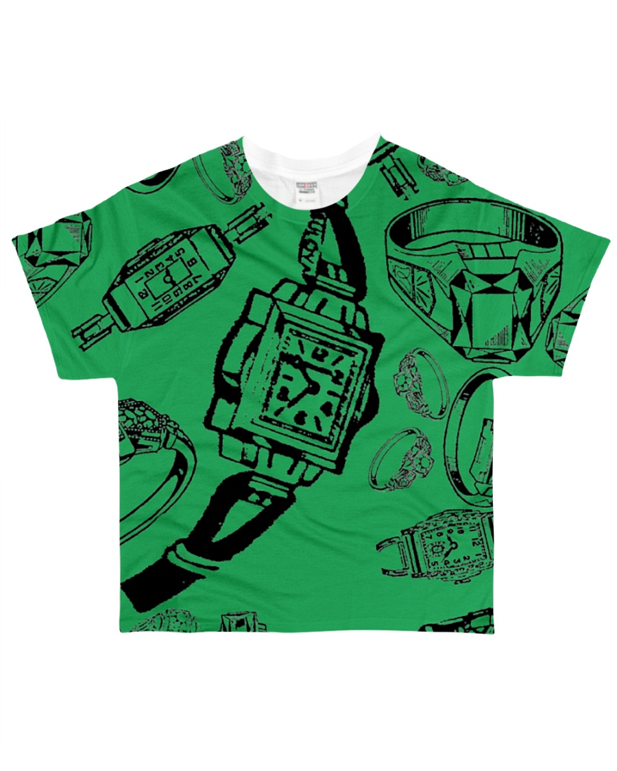 Rings  And Watchs Designer All-over T-Shirt
