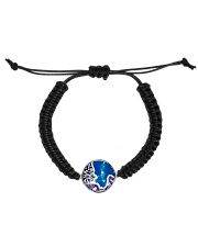 Under water Dragon  Cord Circle Bracelet tile