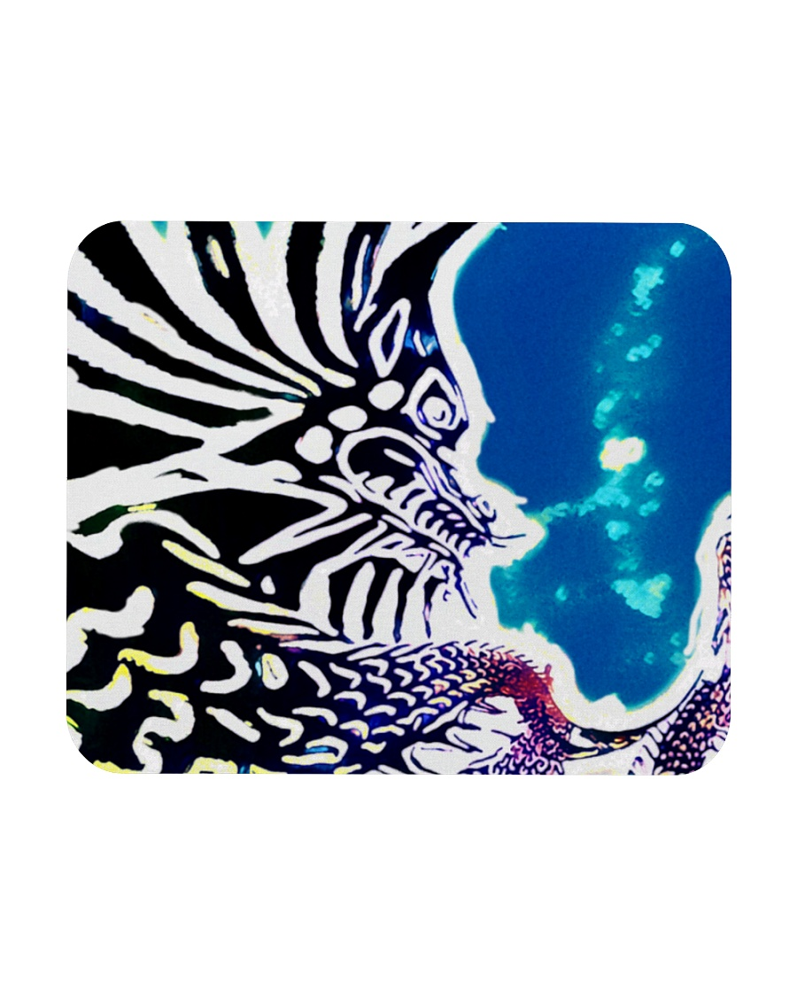 Under water Dragon  Mousepad