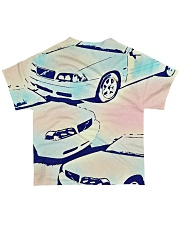 Classic Car Shirt Colorized   All-over T-Shirt back