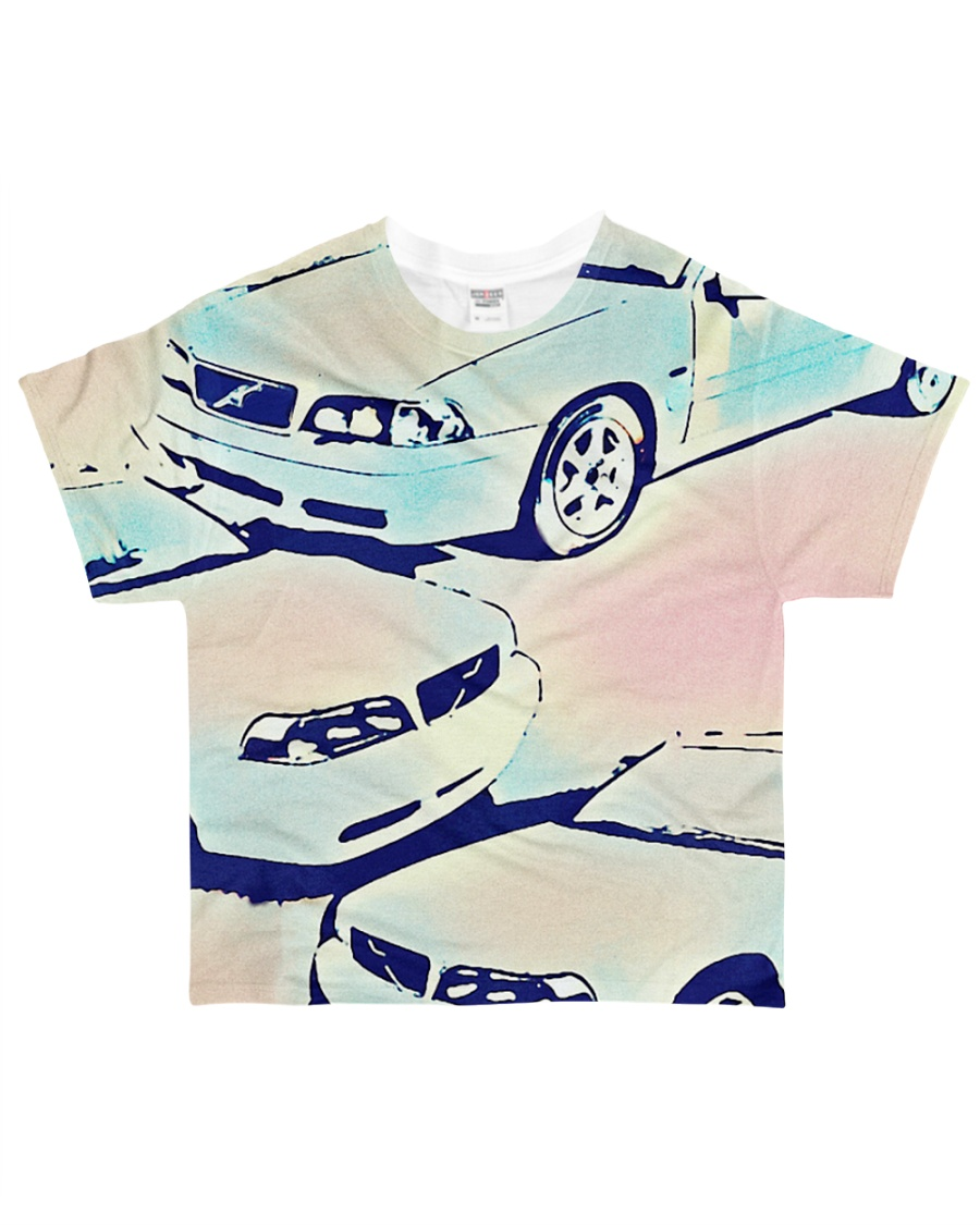 Classic Car Shirt Colorized   All-over T-Shirt
