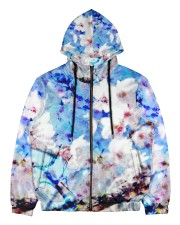 Blossom Print  Men's All Over Print Full Zip Hoodie thumbnail