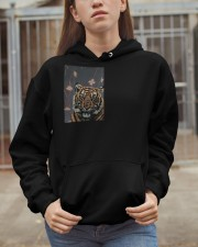Tiger and Fighting fish Hooded Sweatshirt apparel-hooded-sweatshirt-lifestyle-07