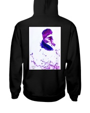 Tiger and Fighting fish Hooded Sweatshirt back