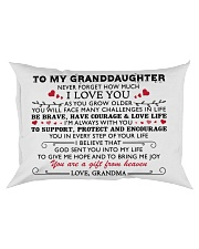 MY GRANDDAUGHTER - Grdma - US Rectangular Pillowcase thumbnail