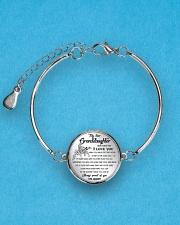 GRANDDAUGHTER - Grandpa Metallic Circle Bracelet aos-bracelet-metal-front-lifestyle-3