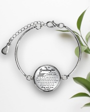 GRANDDAUGHTER - Grandpa Metallic Circle Bracelet aos-bracelet-metal-front-lifestyle-4