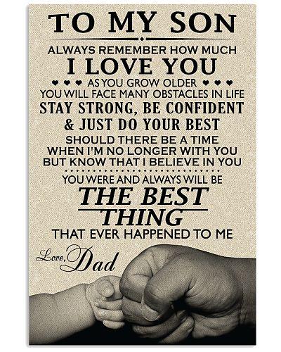 MY SON - DAD