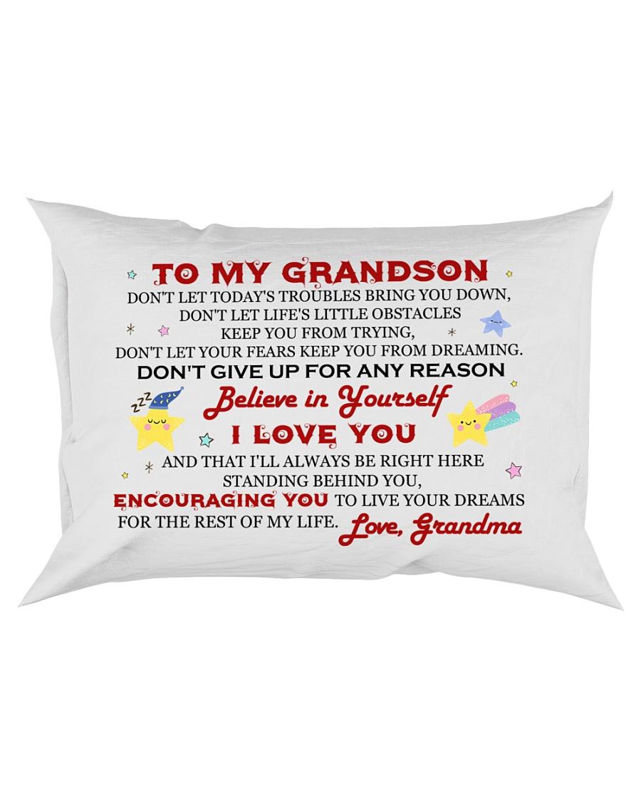 MY GRANDSON - GRANDMA Rectangular Pillowcase