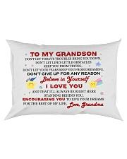 MY GRANDSON - GRANDMA Rectangular Pillowcase front