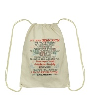 MY GRANDSON - GRANDMA Drawstring Bag thumbnail