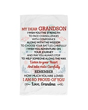 MY GRANDSON - GRANDMA Hand Towel tile