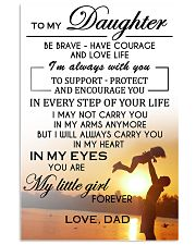 MY DAUGHTER  - DAD 24x36 Poster front