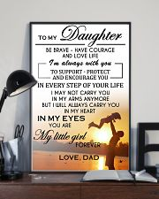 MY DAUGHTER  - DAD 24x36 Poster lifestyle-poster-2