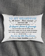 MY GRANDSON Rectangular Pillowcase aos-pillow-rectangle-front-lifestyle-1