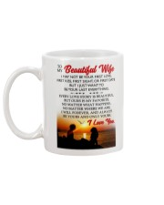 MY WIFE Mug back
