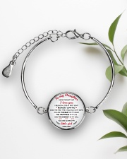 MY DAUGHTER - FD19Q84 Metallic Circle Bracelet aos-bracelet-metal-front-lifestyle-4