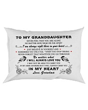 MY GRANDDAUGHTER  Rectangular Pillowcase thumbnail