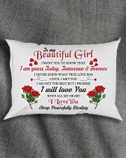 MY BEAUTIFUL GIRL Rectangular Pillowcase aos-pillow-rectangle-front-lifestyle-1