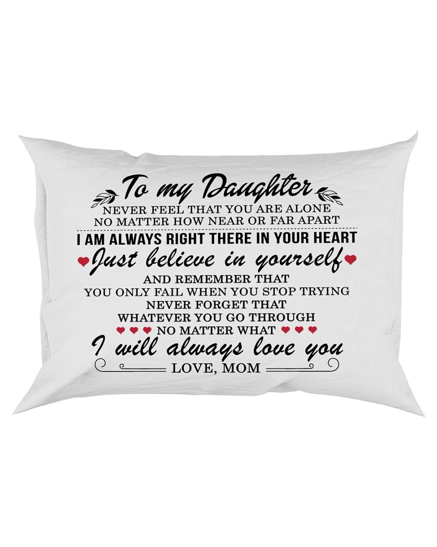 MY DAUGHTER - MOM Rectangular Pillowcase