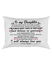 MY DAUGHTER - MOM Rectangular Pillowcase front