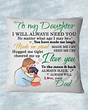 MY DAUGHTER - FDMM346 Square Pillowcase aos-pillow-square-front-lifestyle-15