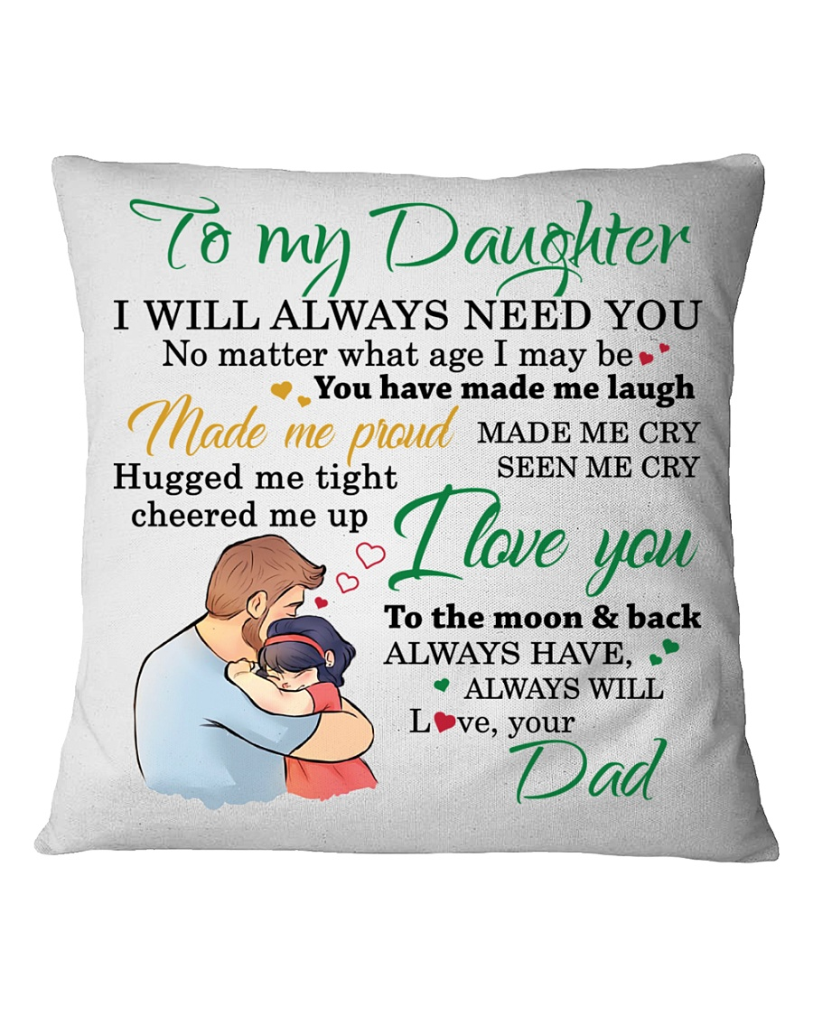 MY DAUGHTER - FDMM346 Square Pillowcase