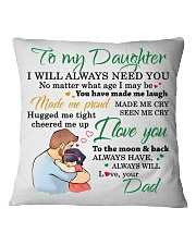 MY DAUGHTER - FDMM346 Square Pillowcase front