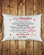 MY DAUGHTER - mom Rectangular Pillowcase aos-pillow-rectangle-front-lifestyle-2