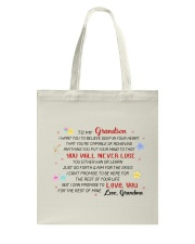 MY GRANDSON Tote Bag thumbnail