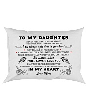 MY DAUGHTER - MOM Rectangular Pillowcase thumbnail