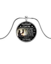 MY GRANDDAUGHTER Metallic Circle Necklace thumbnail