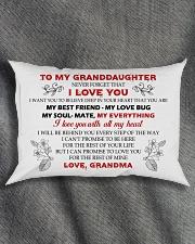 MY GRANDDAUGHTER Rectangular Pillowcase aos-pillow-rectangle-front-lifestyle-1