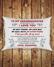 MY GRANDDAUGHTER Rectangular Pillowcase aos-pillow-rectangle-front-lifestyle-2