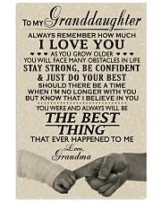 MY GRANDDAUGHTER - GRANDMA 24x36 Poster front