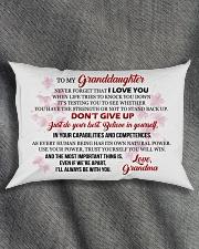 MY Granddaughter - Grma Rectangular Pillowcase aos-pillow-rectangle-front-lifestyle-1